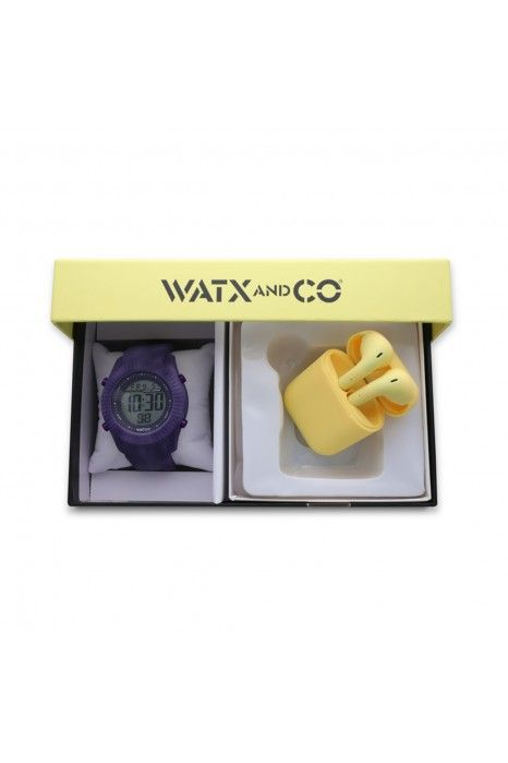 CAIXA WATX SMART PURPLE 43MM
