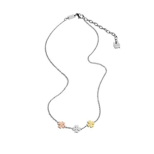 COLAR ONE JEWELS LUCKY FLOWER OJLFN023T