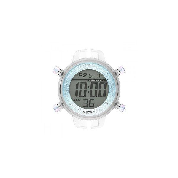 CAIXA WATX DIGITAL IRIS AZUL 43MM RWA1129