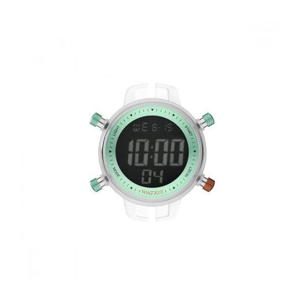 CAIXA WATX DIGITAL PODIUM VERDE 43MM RWA1160
