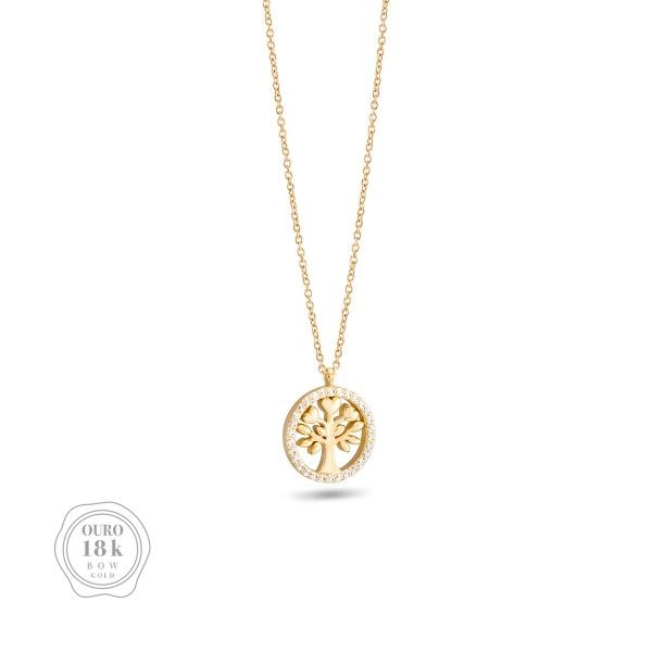 COLAR BOW GOLD TREE OF LIFE BW.CL.0118.0017