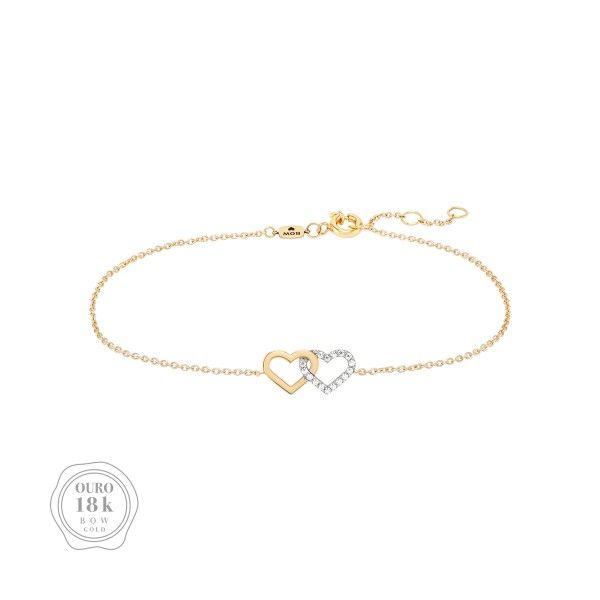 PULSEIRA BOW GOLD HEART II BW.PU.0118.0002