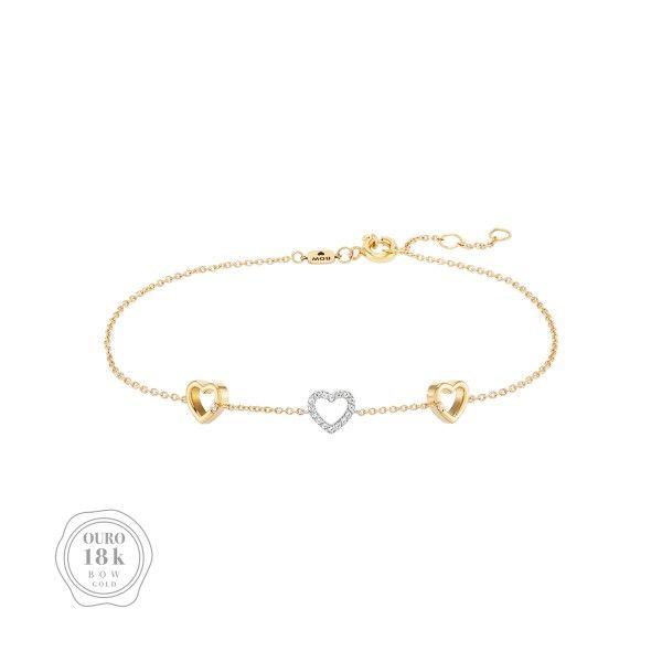 PULSEIRA BOW GOLD HEART III BW.PU.0118.0004