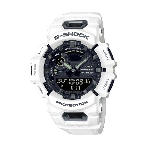 RELÓGIO CASIO G-SHOCK G-SQUAD BRANCO GBA-900-7AER