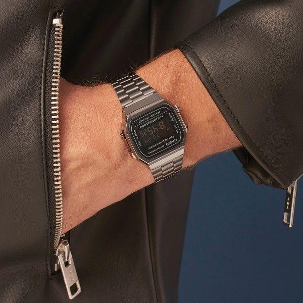 Relógio CASIO Vintage Cinzento A168WEGG-1BEF