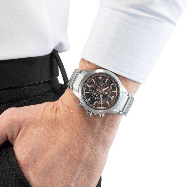 Relógio CITIZEN Eco Drive Branco AT2470-85E