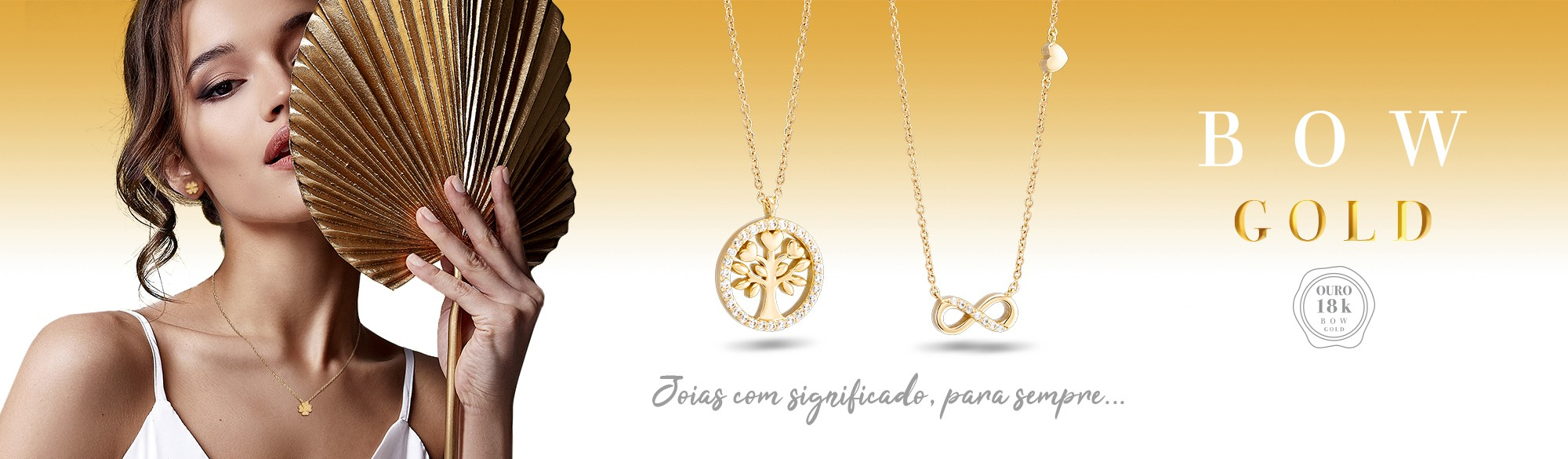 Joias Bow Gold - Ouro 18k