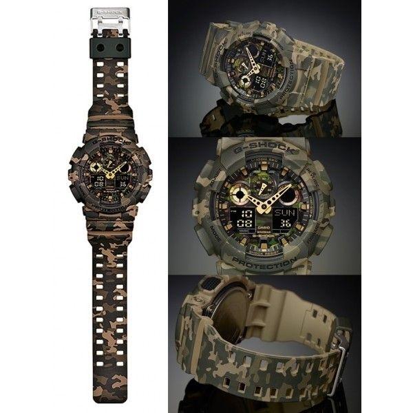 Relógio CASIO G-SHOCK Classic Várias Cores GA-100CM-5AER