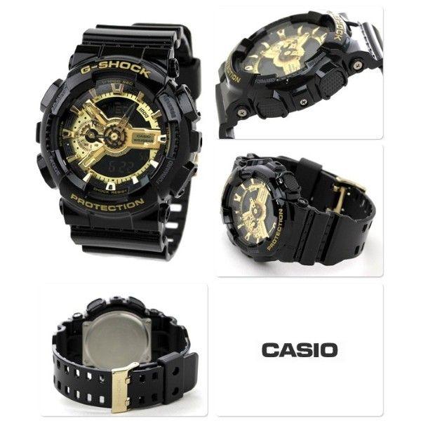 Relógio CASIO G-SHOCK Black & Gold GA-110GB-1AER