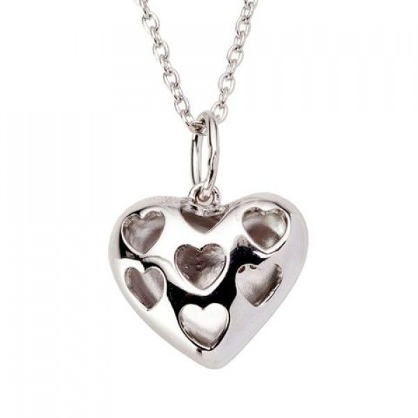 Colar BOW HAPPY Lovers Heart BH.CL.1203.0011
