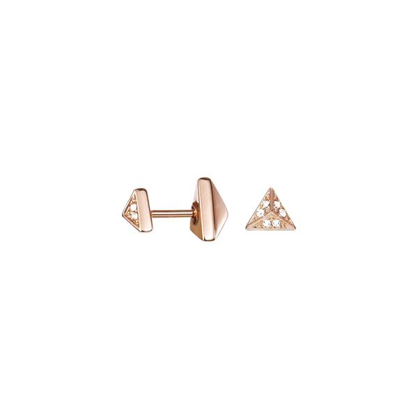 Brincos ESPRIT JEWELLERY Soft Geometric ESER03049C000