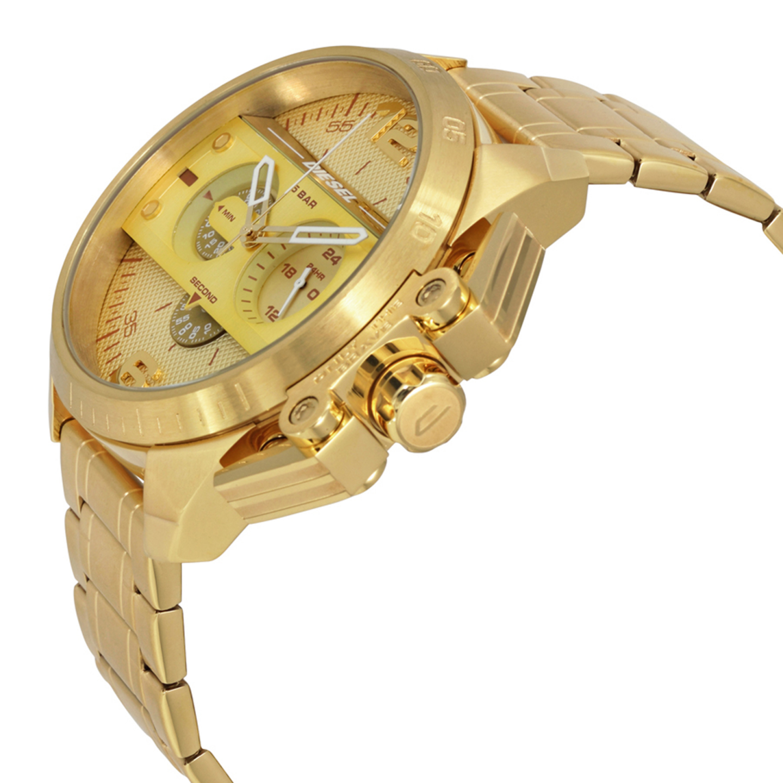 Relógio DIESEL Rasp Dourado