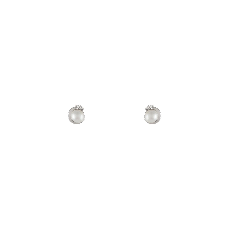 Brincos BOW HAPPY Pearls