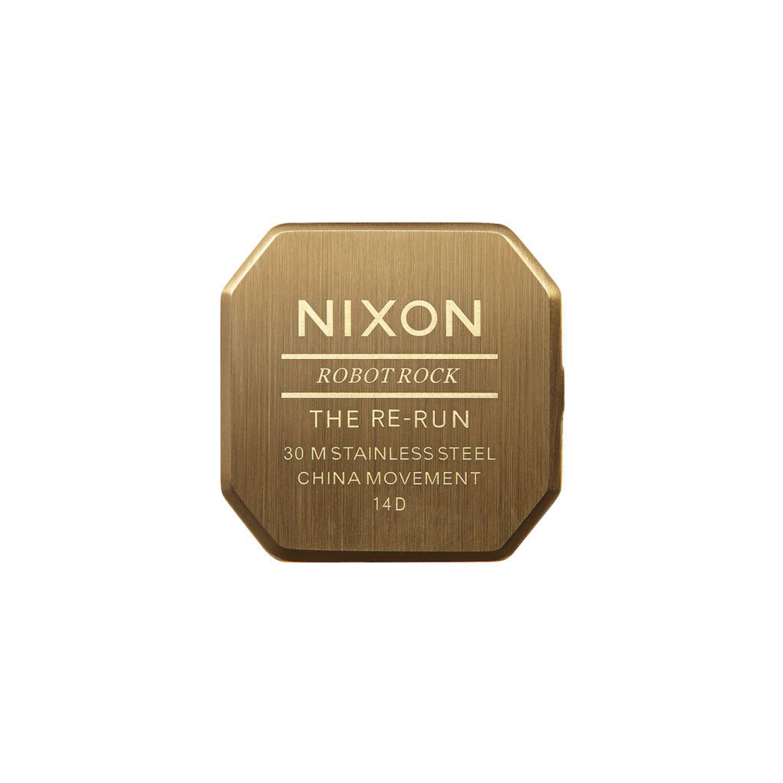 Relógio NIXON Re-Run Dourado
