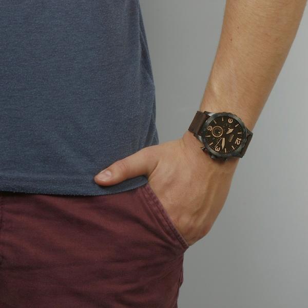 Relógio FOSSIL Nate Castanho JR1487