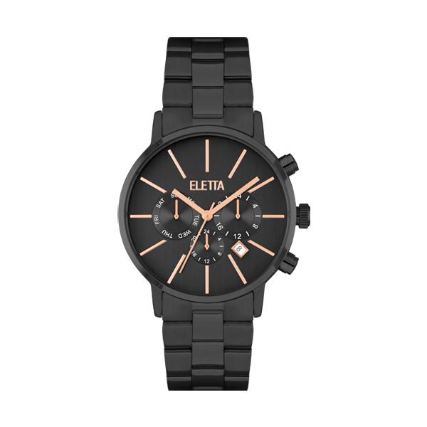 Relógio ELETTA Flow Black ELA580MPMP