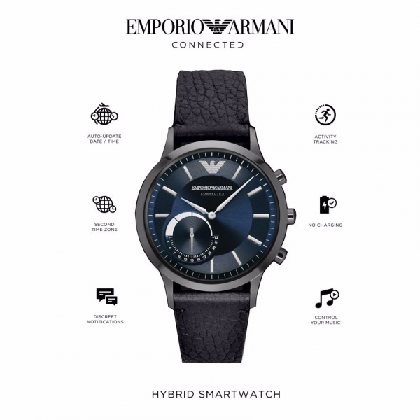 Relógio inteligente EMPORIO ARMANI Connected(Smartwatch) ART3004