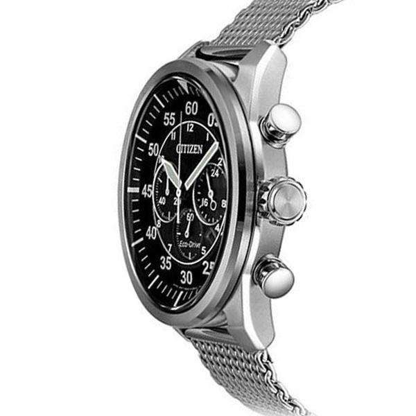 Relógio CITIZEN Sports Mesh Silver CA4210-59E