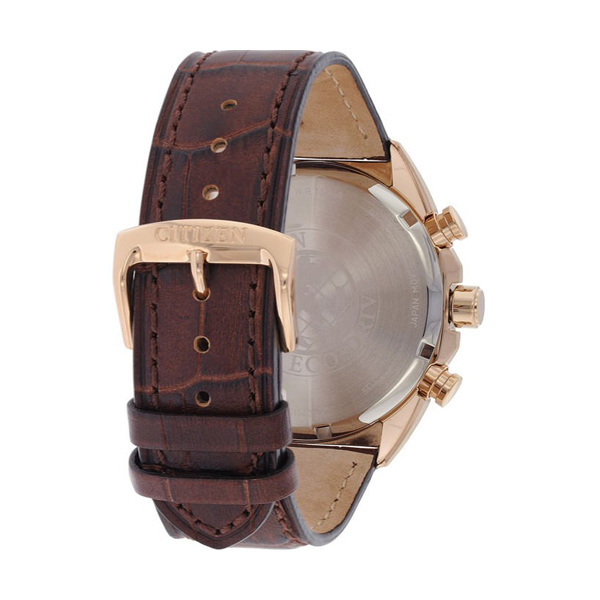Relógio CITIZEN Elegant Chrono Brown CA4283-04L