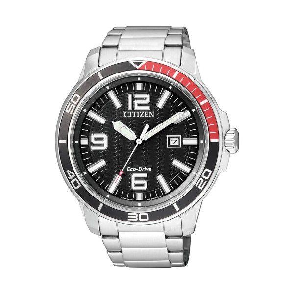 Relógio CITIZEN Sports Marine Silver Black AW1520-51E