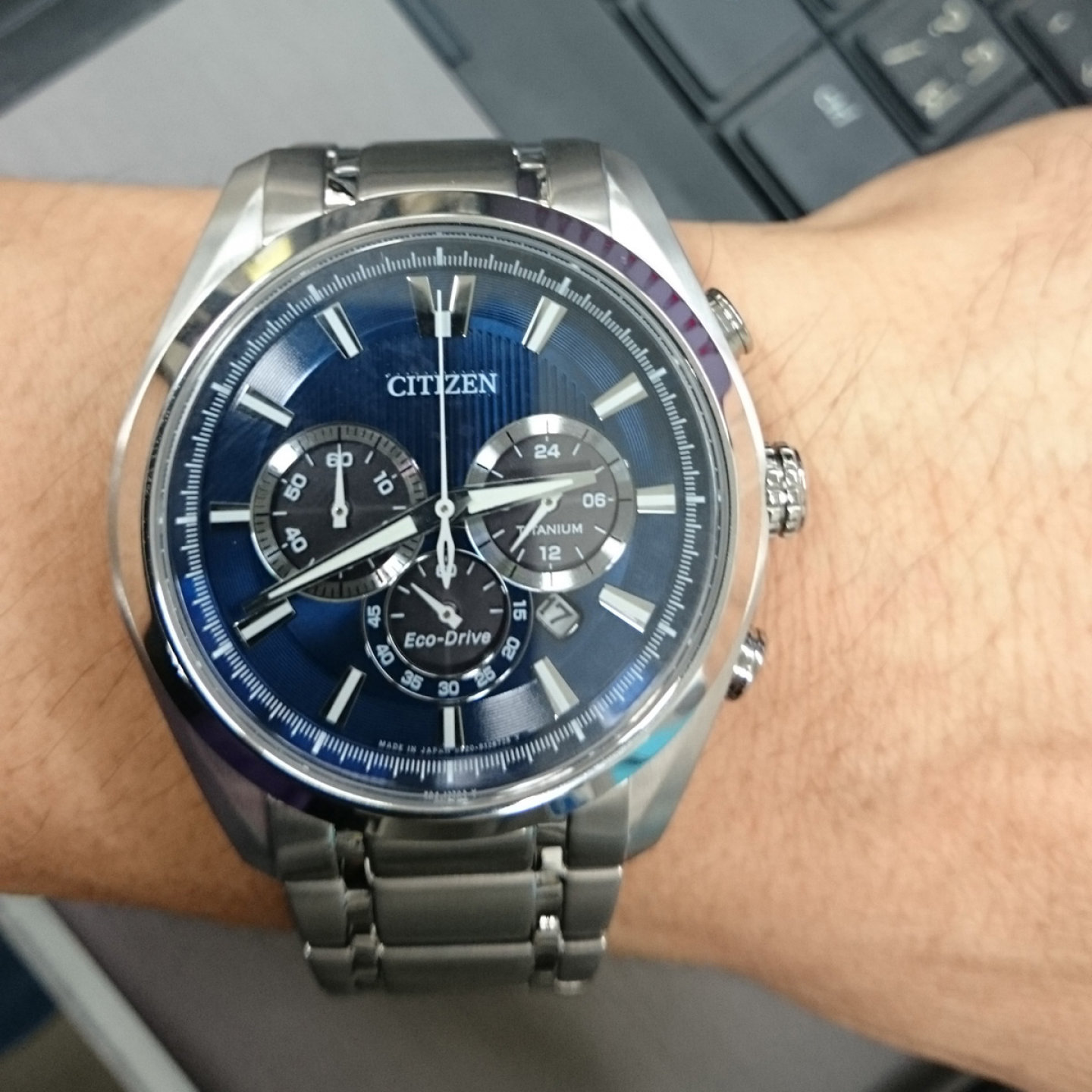 Relógio CITIZEN Super Titanium Chrono