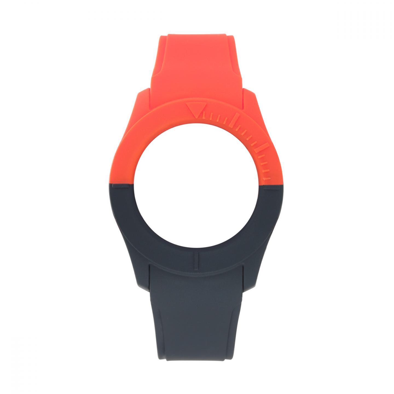 Bracelete WATX S Smart Duo Vermelho e Azul escuro
