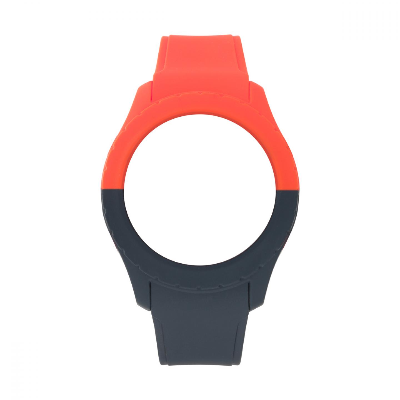Bracelete WATX L Smart Duo Vermelho e Azul escuro
