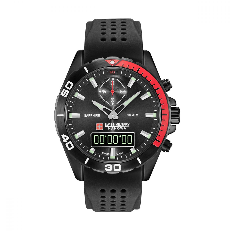Relógio SWISS MILITARY Multimission Preto