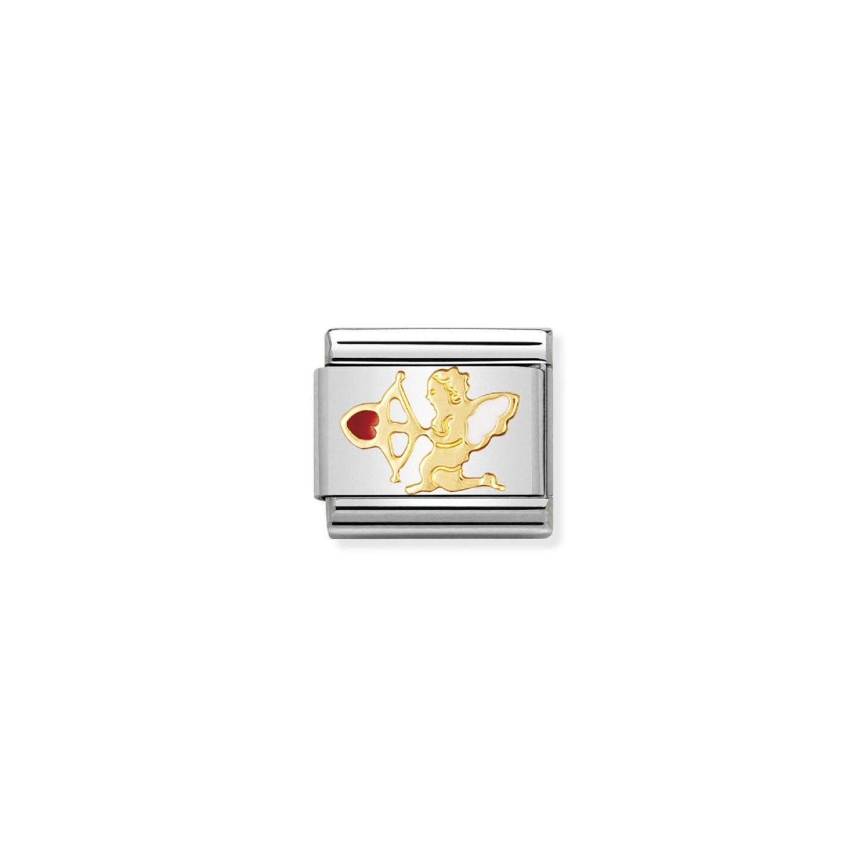 Charm Link NOMINATION Cupido com seta vermelha