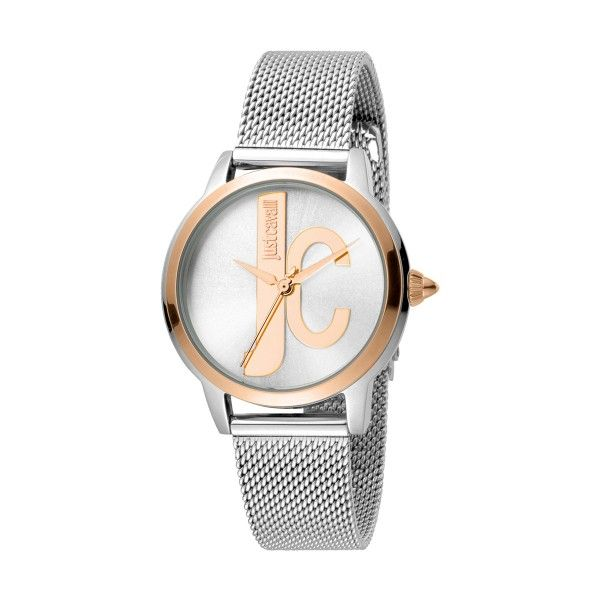 Gift Set JUST CAVALLI Logo Relógio e Pulseira JC1L050M0115