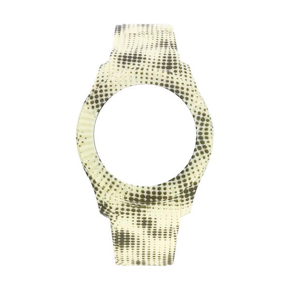 Bracelete WATX M Smart Pixel Amarelo e cinzento COWA3058