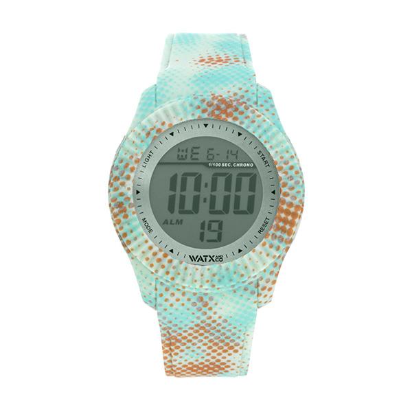 Bracelete WATX M Smart Pixel Verde, Azul e Laranja COWA3059