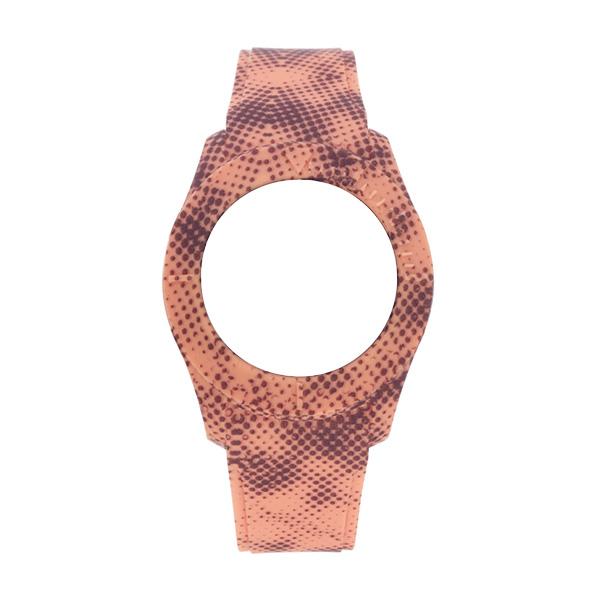 Bracelete WATX XS Smart Pixel  Coral e Castanho COWA3560