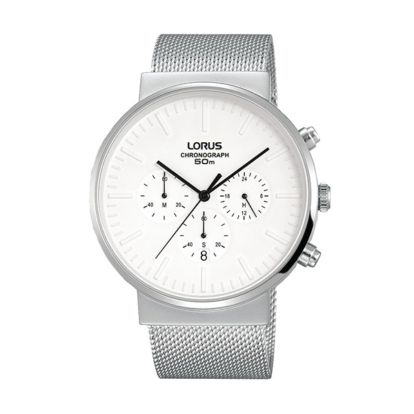 fcdb443c47b Relógio LORUS Classic Man Prateado - RT375GX9