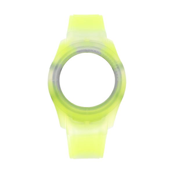 Bracelete WATX Silicone Smart Tie Dye Amarelo COWA3532