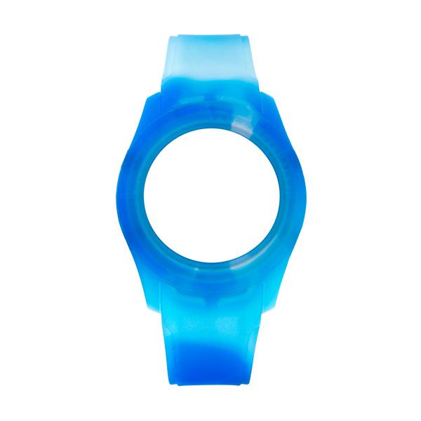 Bracelete WATX Silicone Smart Tie Dye Azul COWA3531