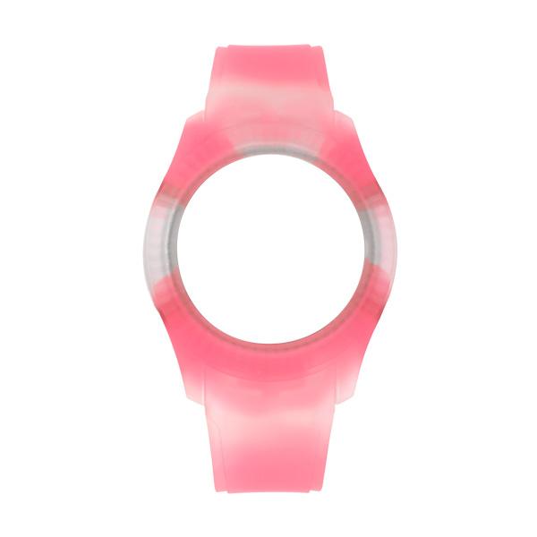 Bracelete WATX Silicone Smart Tie Dye Rosa COWA3034