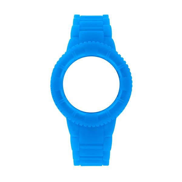 Bracelete WATX Silicone Original Glow Azul COWA1429