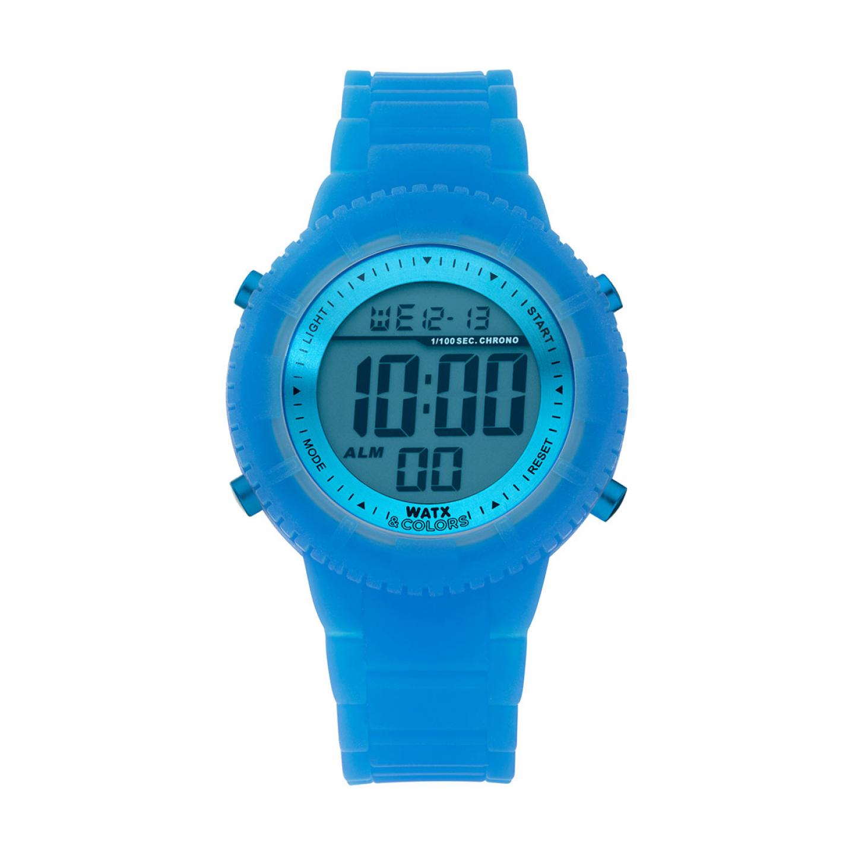 Bracelete WATX Silicone Original Glow Azul