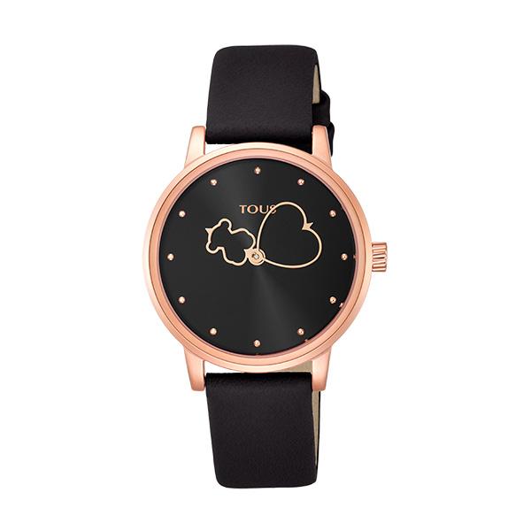 Relógio TOUS Bear Time Preto 800350920
