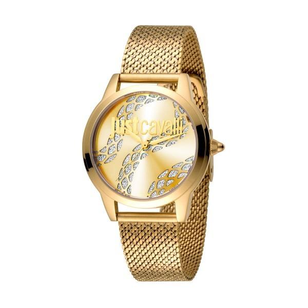 f860e615593b7 Relógio JUST CAVALLI Logo Dourado - JC1L050M0265