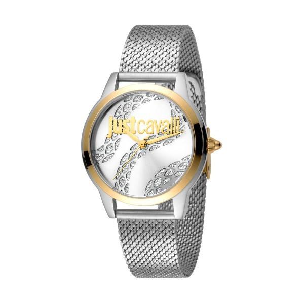 9a0a339dc4514 Relógio JUST CAVALLI Logo Bicolor - JC1L050M0285