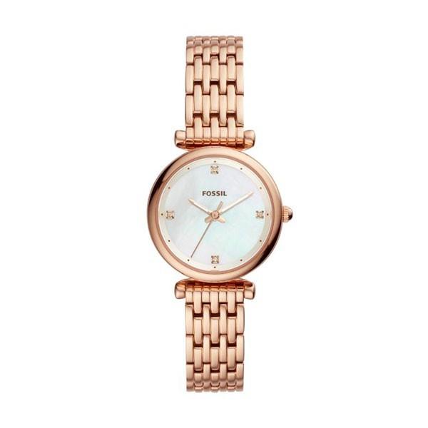 Relógio FOSSIL  Carlie Ouro Rosa ES4429