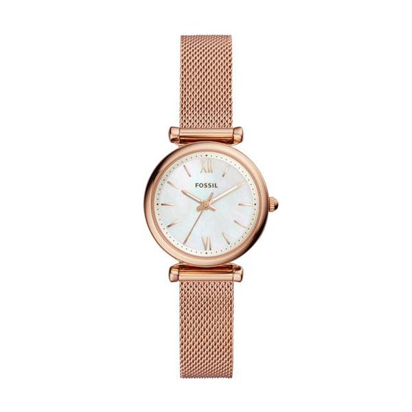Relógio FOSSIL Carlie Ouro Rosa ES4433