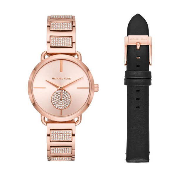 Relógio MICHAEL KORS Portia Ouro Rosa MK2776