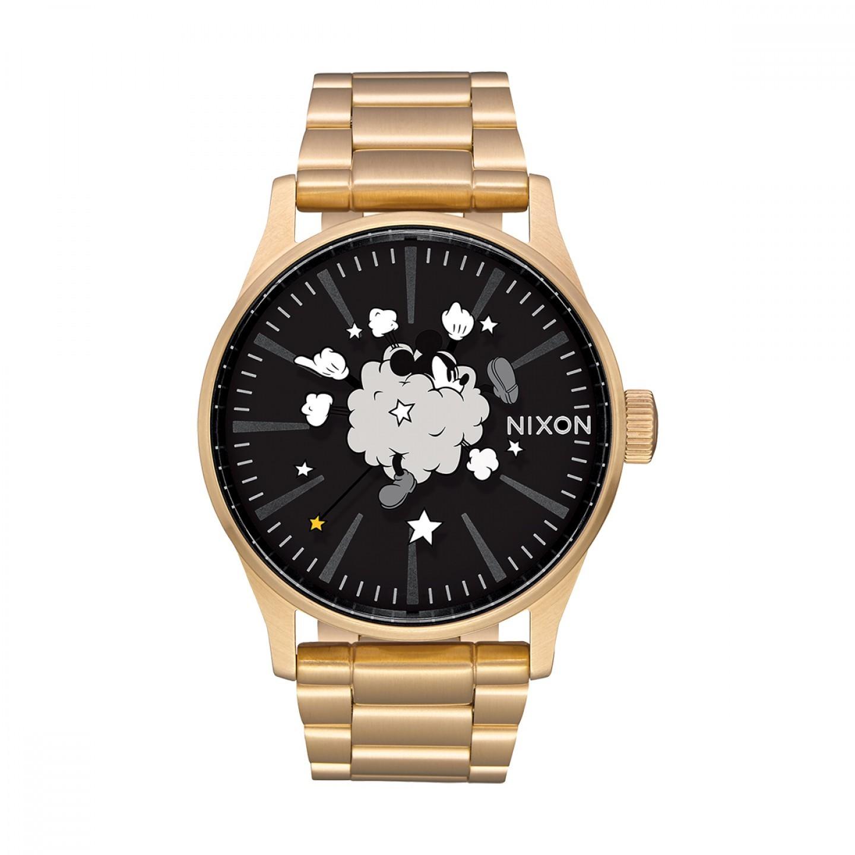 Relógio NIXON Sentry SS Mickey Mouse Dourado