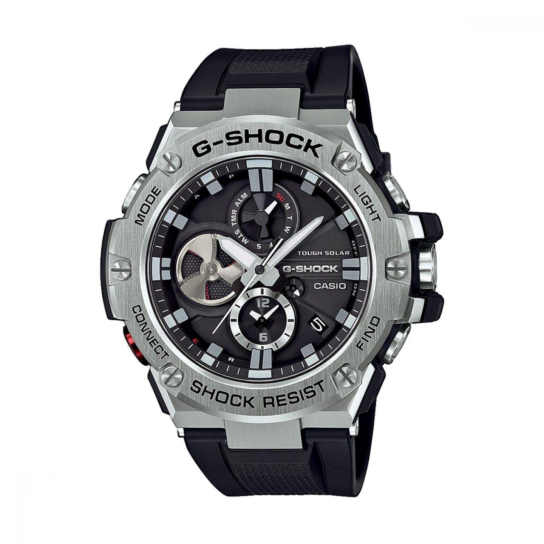 Relógio CASIO G-SHOCK g-steel Preto