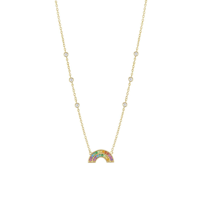 Colar UNIKE JEWELLERY Rainbow