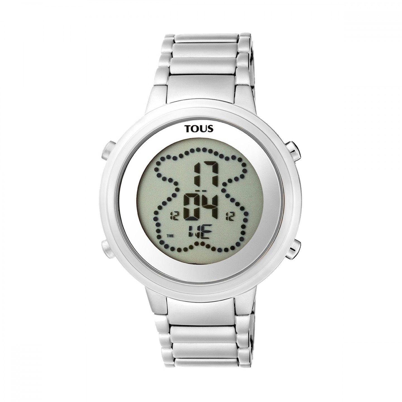Relógio TOUS Digibear Prateado