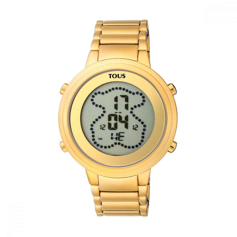 Relógio TOUS Digibear Dourado